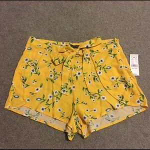 Kendall and Kylie Tie Front Shorts
